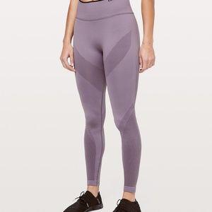 lululemon Graphite Purple Iconic Sweat Tight Sz 10